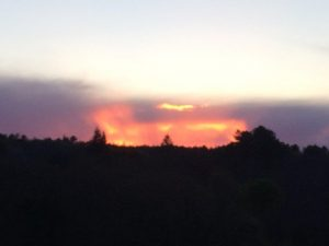 Domaine de Pessel retreats sunsets
